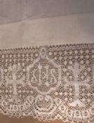 Plain Weave Altar Cloth with Lace